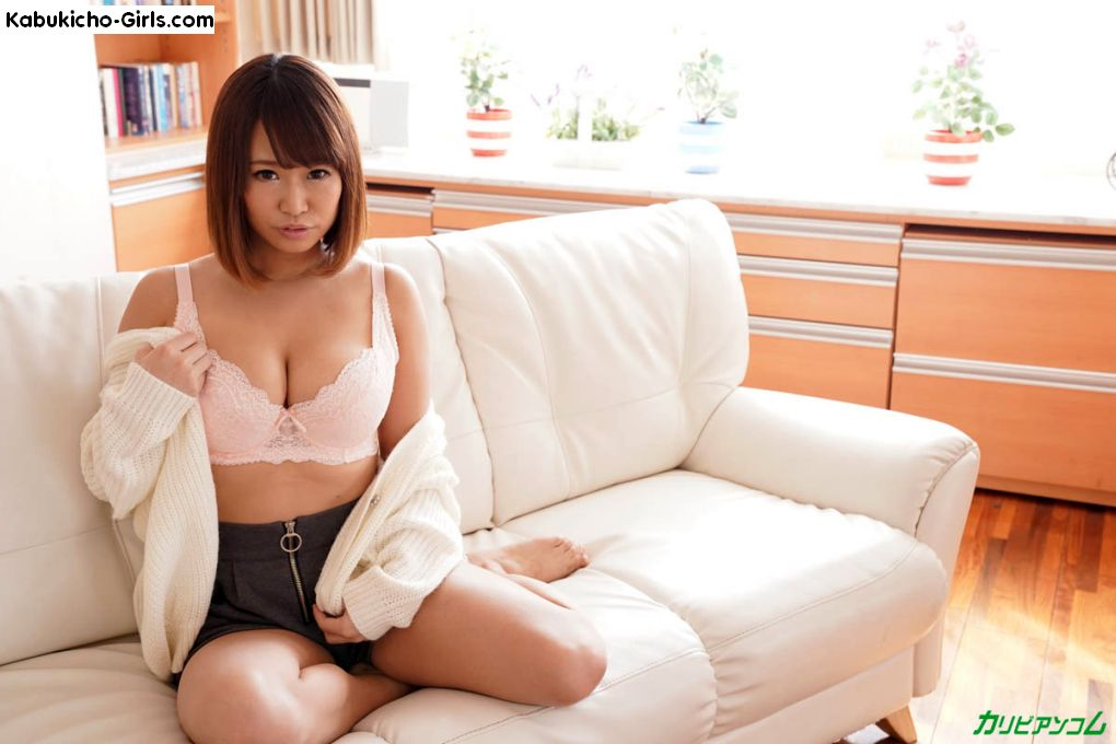 Riina Okamoto, 岡本理依奈 shows her sexy lingerie and firm big tits ready for suckling.